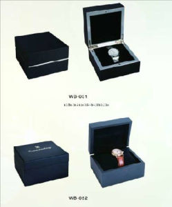 Smart Glossy Wooden Watch Packaging Box (WB-051 WB-052) pictures & photos