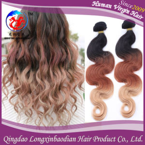 Cambodian Virgin Hair Three Tone Colors Body Wave Hair Extension