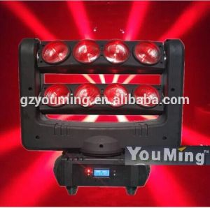 New 8*10W RGBW 4in1 LED Moving Head Beam Lighting