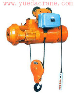 MD Model Double Speed Electric Hoist with Wire Rope