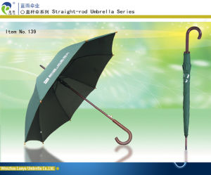 Auto Wooden Umbrella 139