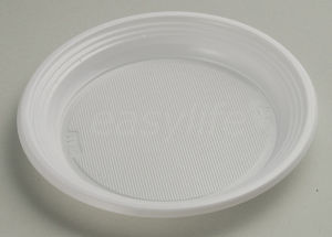 Easylife P071720 7′′ (16.8cm) Round Plate PS White pictures & photos