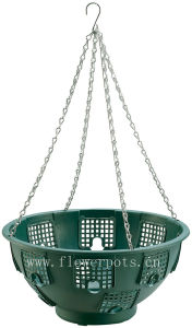 Plastic Hanging Flower Pot (KD7023) pictures & photos