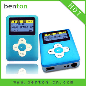4GB Music MP3 Player with 7 EQ Modes (BT-105H)
