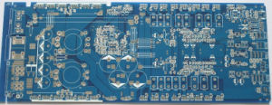 PCB FR-4 Material Blue Color