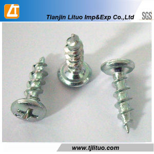 Phillips Zinc Palated Pan Head Self Tapping Screws pictures & photos