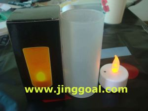 Magic LED Candle (JE-1025) pictures & photos
