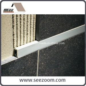 Silver Aluminum Wall Ceramic Decorative Tile Trim / Listello