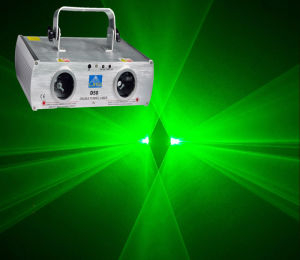 Double-Tunnel Green Laser Light for DJ (D50)