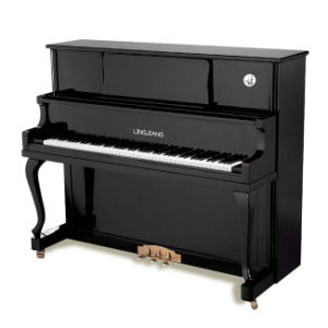 Lingjiang Black Polished Upright Piano (UP-119, 121, 123, 125)