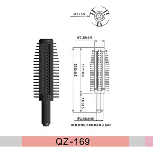 Disposable Essen Mini Water Proof Based Eye Hair Mascara Brush
