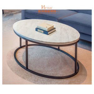 Hotel Side Small Oval Simple End Table