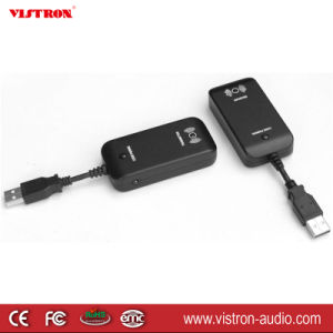Black USB 2.0 Bluetooth V2.0 Dongle Wireless Adapter Transmitter Receiver for PC