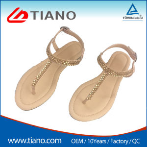 34325f9c3 China Anti Slip Flip Flops Sandals for Ladies - China Wedge Sandal ...