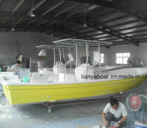 Liya 25FT Fishing Boat Panga Boat Fiberglass Boat for Sale pictures & photos