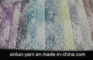 100%Polyester Decoration Liene Flocking Fabric for Sofa pictures & photos