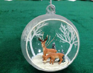 New Design Clear Glass Ornaments pictures & photos