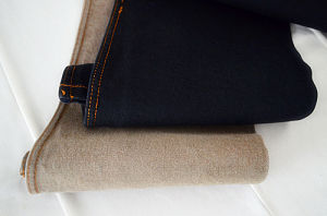 Denim Fabric Black Weft Weight 10oz