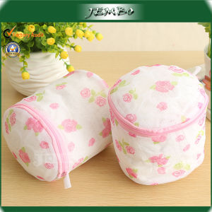 Hot Sell Small Laundry Basket Bag with Mesh Material pictures & photos