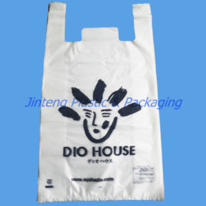 Logo Printed Shopping Bag for Grocery Stores