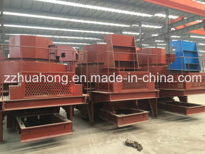 Huahong Limestone Quartz Cobble Silica Sand Making Machine pictures & photos