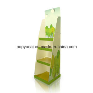 Custom Corrugated Cardboard Floor Display Shelf, Point of Purchase Displays