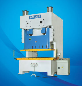 ISO Open Frame High Precision Double Crank Press Machine (110Tons~250Tons)