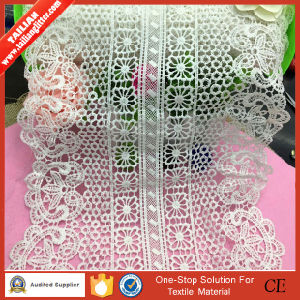 2016 Factory Wedding Dress French Net Lace Fabric/Dubai French Lace/Beaded French Lace Border pictures & photos