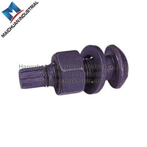High Strength Steel ASTM A325 Hex Bolts with Black