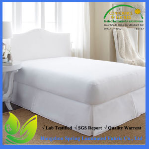 Made in China Premium Waterproof Cotton Terry Mattress Protector pictures & photos