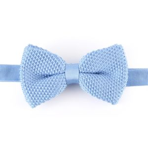 Men′s Fashionable Plain Knitted Bow Tie (YWZJ 13) pictures & photos