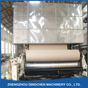 Dingchen Professional 1575mm Brown Paper Roll Making Machinery (Cotton Wood) pictures & photos