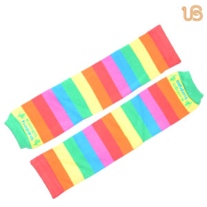Baby Rainbow Pattern Legwarmer pictures & photos