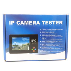 IP and Analog Camera CCTV Tester with Wrist Band (IPCT1600) pictures & photos