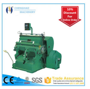 High-Quality Die Cutting Machine with Ce Certification