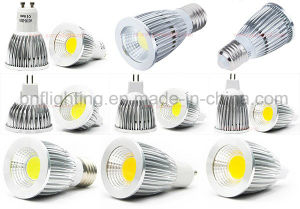 LED Gu5.3 COB Thermal Plastic Spotlight for 3W/5W with Ce Saso pictures & photos