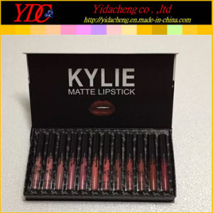 12 Pieces Kylie Bow Matte Lip Gloss Liquid Lipstick Set
