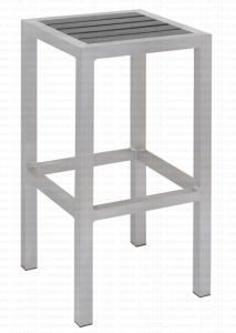 Aluminum Plastic Wood Stool Pwc-315 pictures & photos