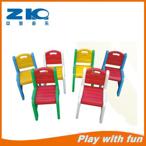 Kids Plastic Back-Rest Chair for Kindergarten pictures & photos