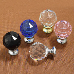 Crystal Glass Door Handles Craft for Home Decoration pictures & photos