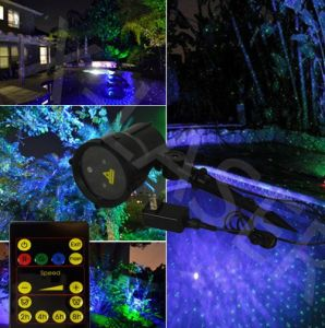 Outdoor Green&Blue Moving Laser Light for Garden Design Ligthing pictures & photos