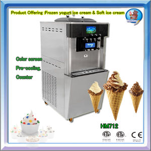 UL Approved Soft Ice Cream Machine Ice Cream Freezer HM712 pictures & photos