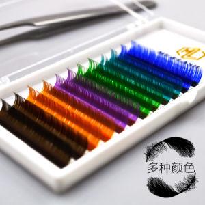 5d041b96661 Me&Lash 0.07 Rainbow Color Lashes Classic Lashes Volume Lashes Private  Label OEM Silk Mink Eyelash Extension