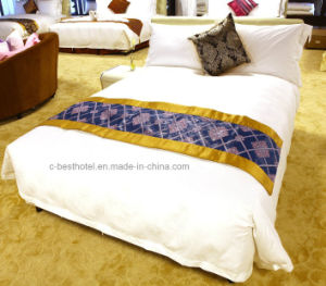 Hotel Linen Suppliers Luxury Comfortable Sofa100% Cotton 400tc 60s / 80s Plain / Jacquard / pictures & photos