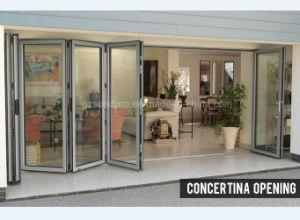 China Latest Home Design Aluminium Door Designs for Folding ...