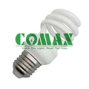 220V CFL Light Bulbs T2 Half Spiral 12W Energy Saving Lamp pictures & photos