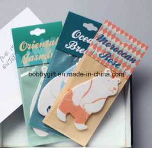 Customized Printed Hanging Car Air Freshener pictures & photos