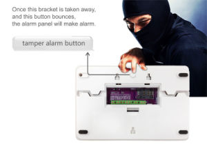 Wireless Intruder Alarm System with 10 Wireless and 4 Wired Zones pictures & photos