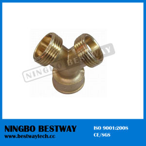 Y Branch Brass Pipe Fitting (BW-645) pictures & photos