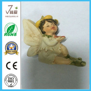 Polyresin Cute Angel Figurine for Home Decoration